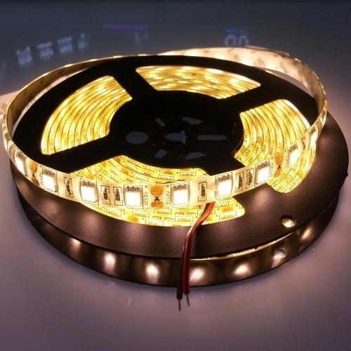 5050 Waterproof Warm White LED Flexible Strip 5 Meters 300Leds