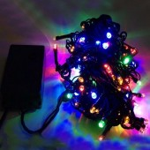 10 Meters 100 LEDs Waterproof LED Bullet Shaped Fairy Light String