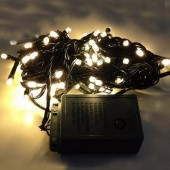 Warm White LED Bullet String Lights For Christmas Tree 10m 100Leds