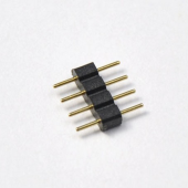 10pcs 4 Pin Male to Male 2-Side Connector For RGB LED Strip