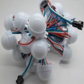 12V 30mm DMX512 RGB 5050 LED Pixel Point Light Waterproof String