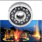 18W Aluminum LED fountain Lamp IP68 Underwater Swimming Pool light 12V/24V Pond Lighting
