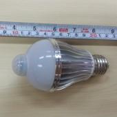 5W 7W E27 LED Bulb PIR Motion Detection Sensor LED Lamp 3pcs