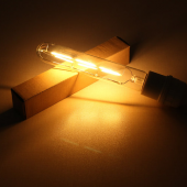 AC110V 220V E27 3W Retro LED Filament Lamp T185 Edison Light Bulb