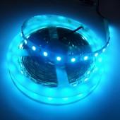 16.4Ft 5050 SMD Ice Blue Flexible LED Strip Light 12V 300 LEDs