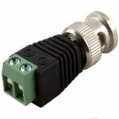 BNC Male Power Connector Coax CAT5 To CCTV Coaxial Camera
