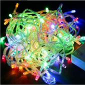Mutiple Color Christmas String Lights 10M 100 LEDs Decoration Light