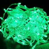 10m 100 LEDs Fairy Light Green String Lights for Tree Decoration 5pcs