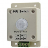 DC 12V-24V 8A infrared Motion PIR Sensor Switch Controller
