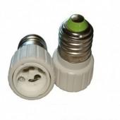 E27 to GU10 Led Lamp Adapter Base Converter