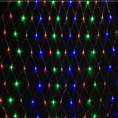 Multiple Colors LED Net Light 2m*3m 200Leds Christmas Decoration