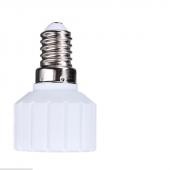 LED Light Bulb Lamp Adapter Socket E14 to GU10 Base Type Converter