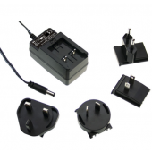 GE12 12W Mean Well Interchangeable Industrial Adaptor Power Supply