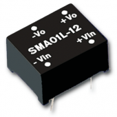 SMA01 1W Mean Well Unregulated Single Output Converter Power Supply