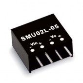 SMU02 2W Mean Well Unregulated Single Output Converter Power Supply
