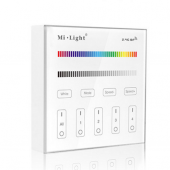 Mi.Light Smart Touch Panel B3 4-Zone RGB RGBW LED Controller