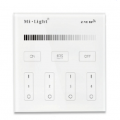 Mi.Light T1 Touch Panel LED Remote Controller 4-Zone Brightness Dimmer